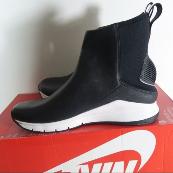 finest selection c8cd7 a9432 NEW Nike Rivah HI Premium Leather Wedge Boots 7.5.  M_5ad105f9a44dbe04328e48b8